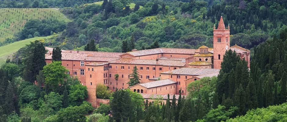 Produkte der Abtei von Monte Oliveto Maggiore