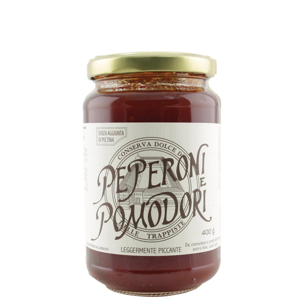 Conserva dolce di Peperoni e Pomodori Trappiste Vitorchiano
