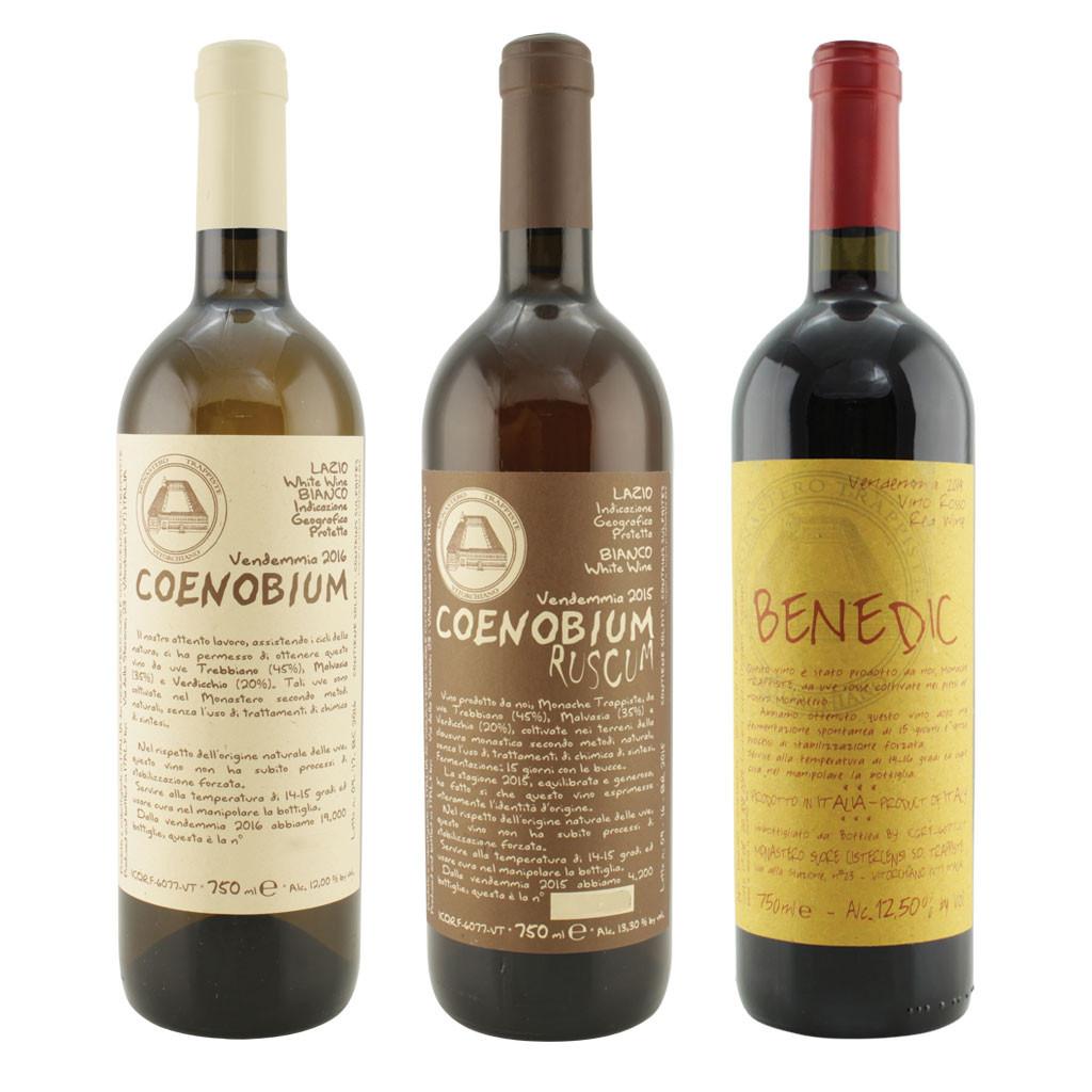 Offerta Degustazione Vini monache Trappiste di Vitorchiano