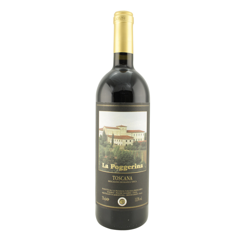 Vino Toscana Rosso Barricato igt La Poggerina 75 cl