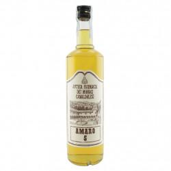 Amaro 5 digestivo dei monaci dell'Antica Farmacia di Camaldoli