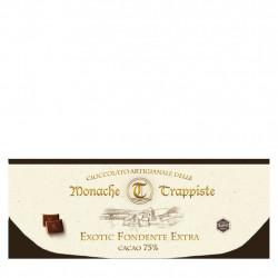 Cioccolato Fondente Amaro 75% Trappiste di Praga