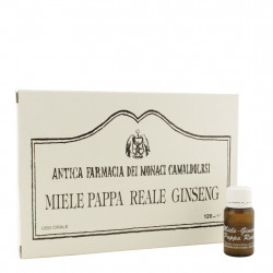 Miele, Pappa Reale, Ginseng 12 flaconcini