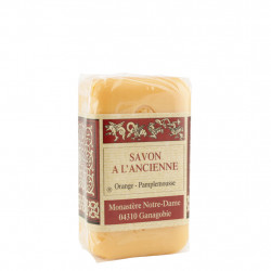 Sapone all'Arancio e Pompelmo (orange pamplemousse) 150 g