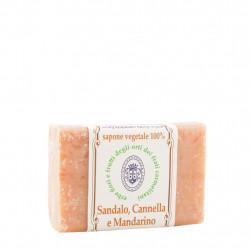 Sapone Sandalo, Cannella e Mandarino 100 g