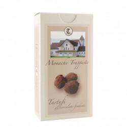Cioccolatini Tartufi con cioccolato fondente extra Trappiste della Moldava di Praga