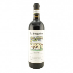 Vino rosso Chianti Docg La Poggerina 75 cl