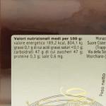 Confettura Frutti d'Autunno di Vitorchiano valori nutrizionali