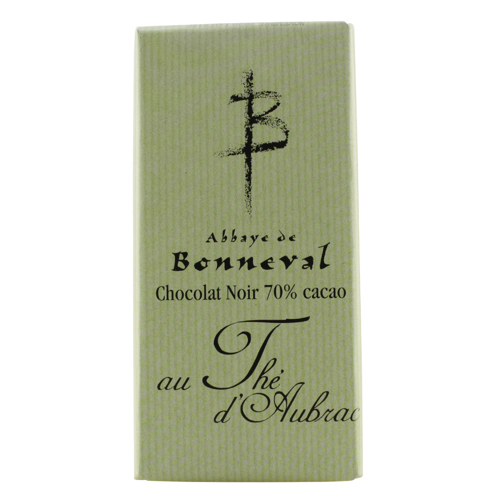 70% dark chocolate with tea 100 g