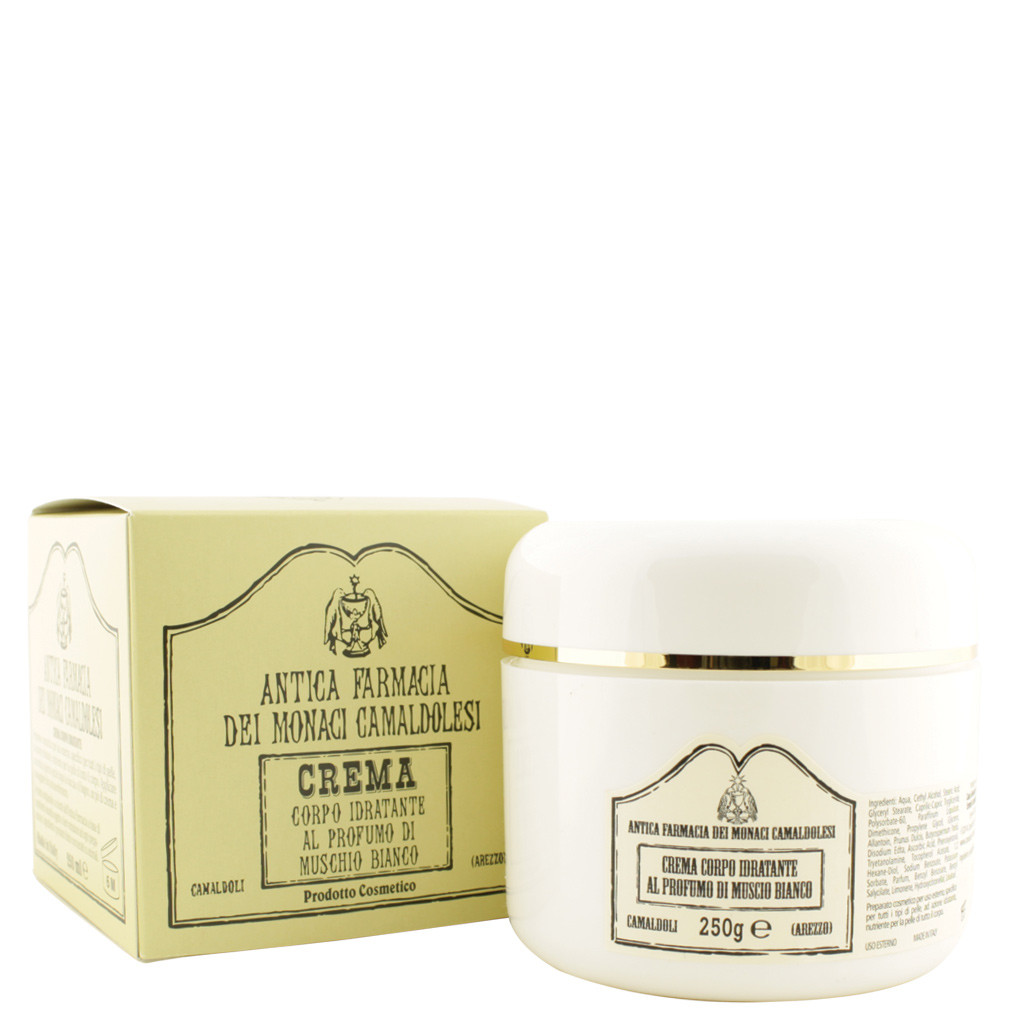 Moisturizing Body Cream with White Musk Perfume 250 ml