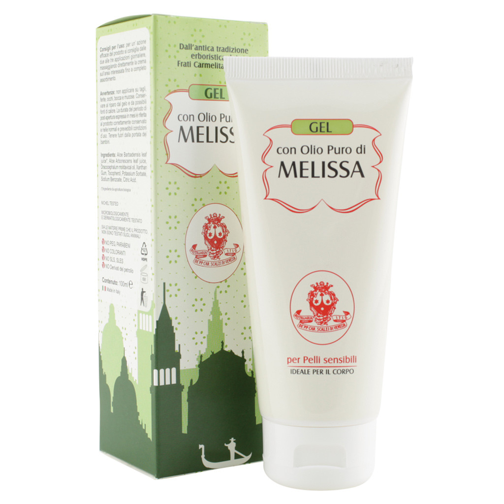 Gel with pure Melissa Body Oil 100 ml