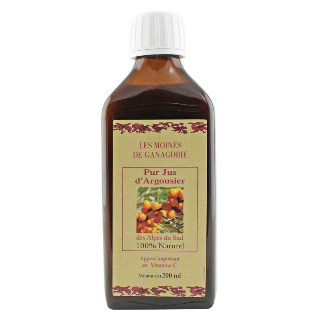 Pur Jus d'Argousier (Thorn Buckthorn Juice) 200 ml