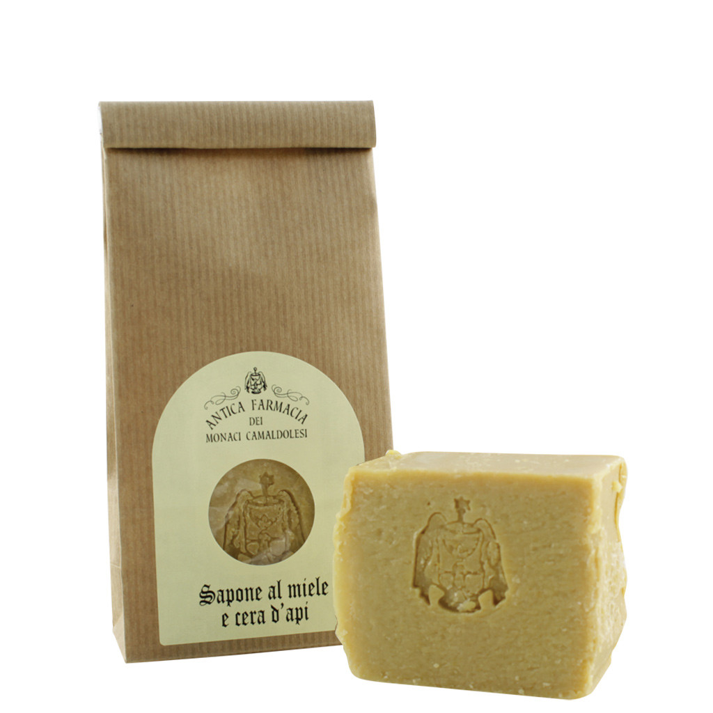 Vegetable soap with Honey and Beeswax 125 g