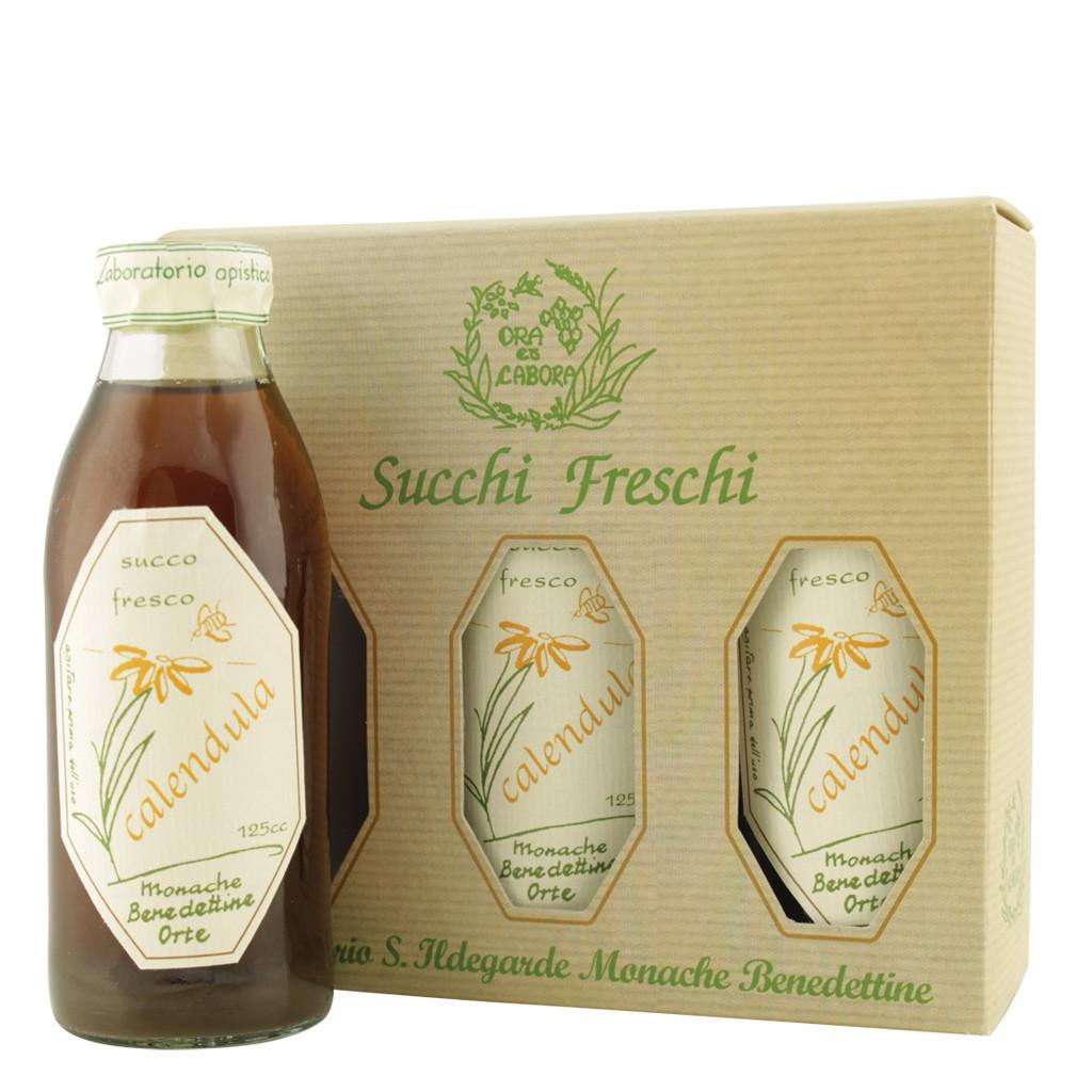 Fresh Calendula Juice 125 ml x3