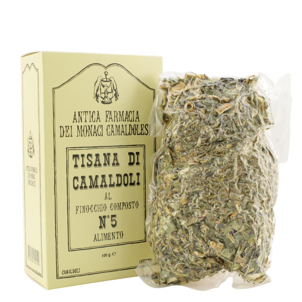 Camaldoli Herbal Tea No. 5 with Fennel Compound 100 g