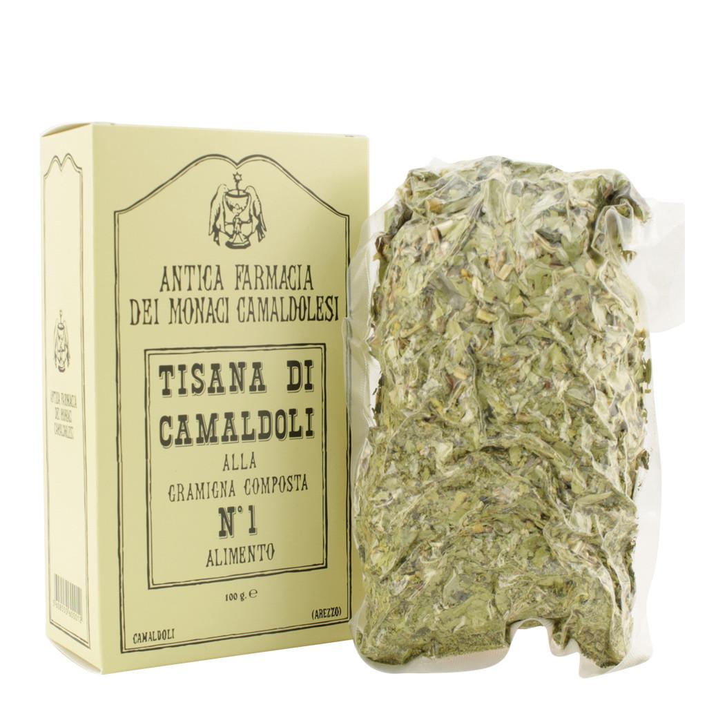Herbal tea of Camaldoli No. 1 with Gramigna composed 100 g