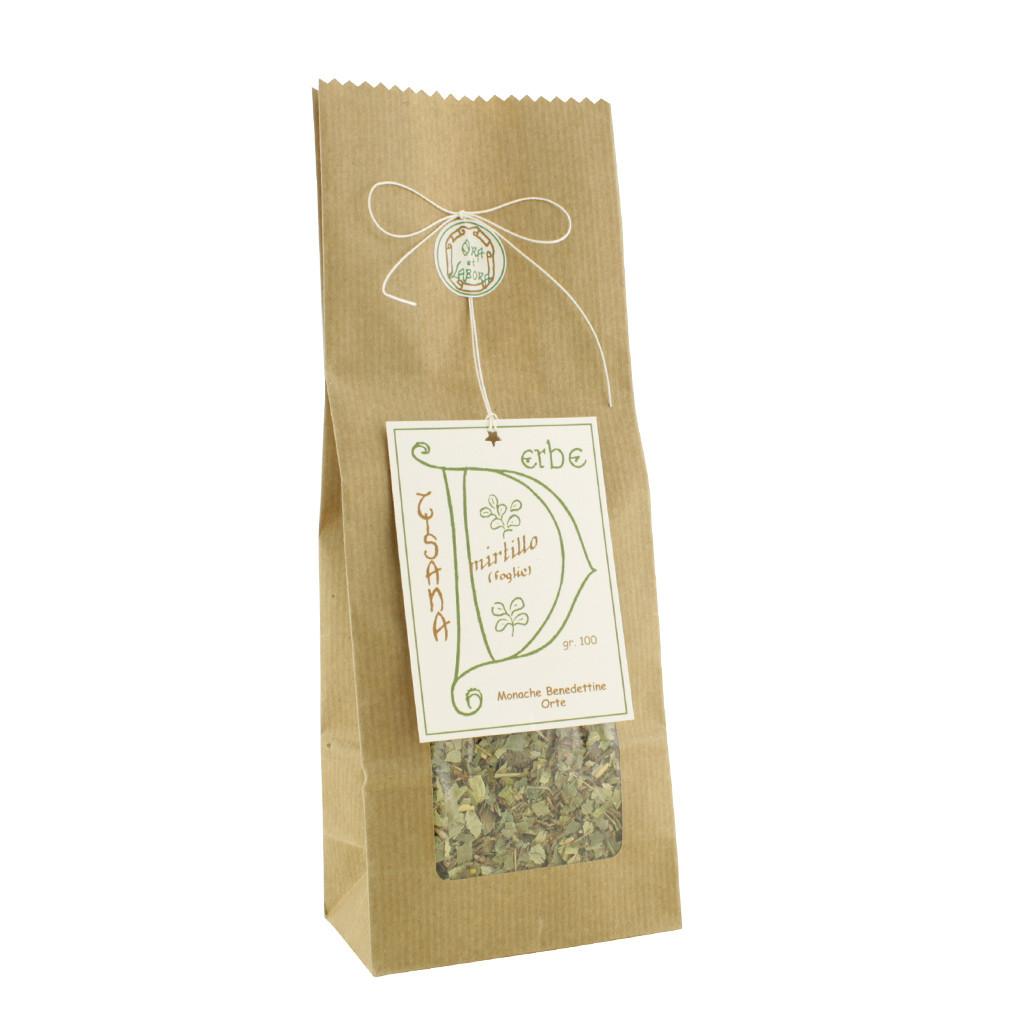 Herbal tea Blueberry herb leaves 100 g