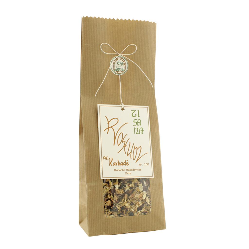 Roseum herbal tea at Karkadè 100 g