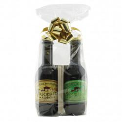 Confezione Regalo con Birre Amber e Blond da 33cl del Monastero Cascinazza