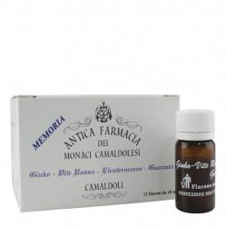 Ginkgo biloba, Eleuterococcus, Red Screw, Guarana 12 vials