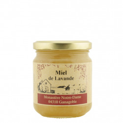 Lavender Honey of the Monastery Notre-Dame of Ganagobie France 250g