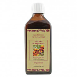 Pur Jus d'Argousier (Thorn Buckthorn Juice) 200 ml