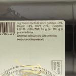 Confettura di Frutti di Bosco Trappiste di Vitorchiano ingredienti