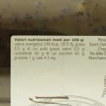 Confettura di Kiwi Trappiste di Vitorchiano valori nutrizionali