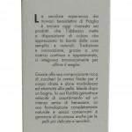 Crema Fluida Corpo Abbazia di Praglia etichetta