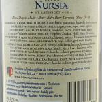 Birra Nursia Extra etichetta retro