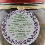 Olive sottolio denocciolate Convento Monte Carmelo Loano ingredienti