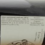 Confettura di Ribes Nero Trappiste di Vitorchiano ingredienti