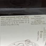 Confettura di Ribes Rosso Trappiste di Vitorchiano ingredienti