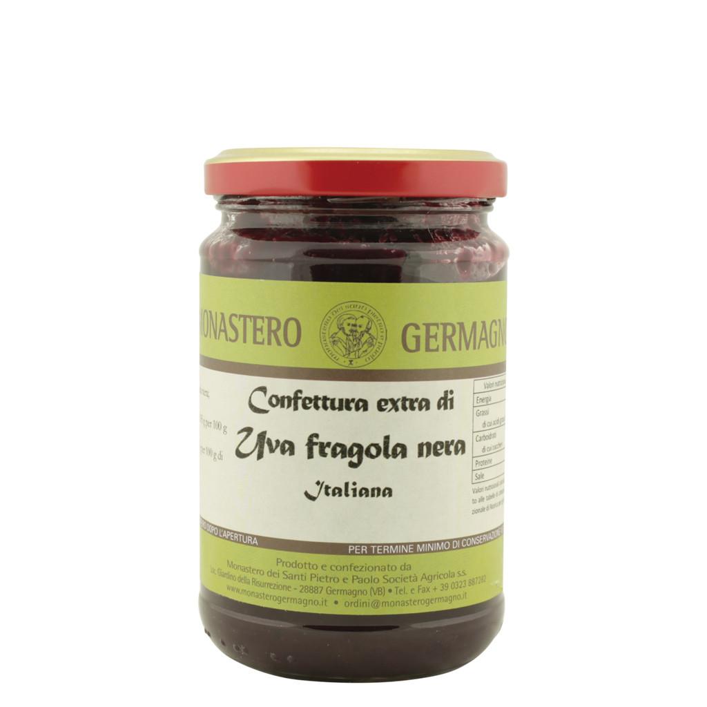 Schwarz-Erdbeer-Trauben-Konfitüre 330 g