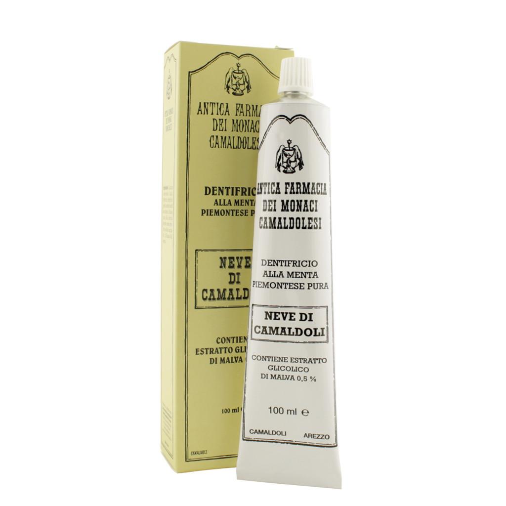 Schnee-Kamaldulenserde-Minze und Malven-Zahnpasta 100 ml