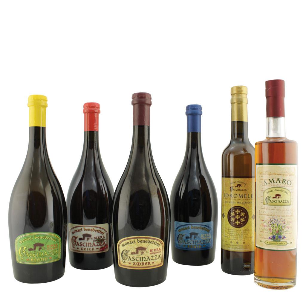 Degustazione prodotti Monastero Cascinazza: birre, amaro e idromele