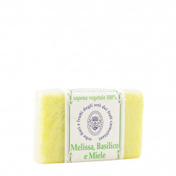 Melissaseife, Basilikum und Honig 100 g