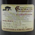 Birra Cascinazza Kriek etichetta retro