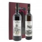 Cantinetta regalo Vini Monte Oliveto (riserva 1319 e passito)