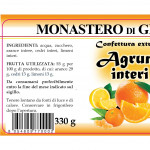 Confettura Agrumi Interi Monaci del Monastero Germagno ingredienti