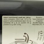Marmellata di Mirtilli Trappiste di Vitorchiano valori nutrizionali