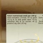 Confettura di Pere Trappiste di Vitorchiano valori nutrizionali
