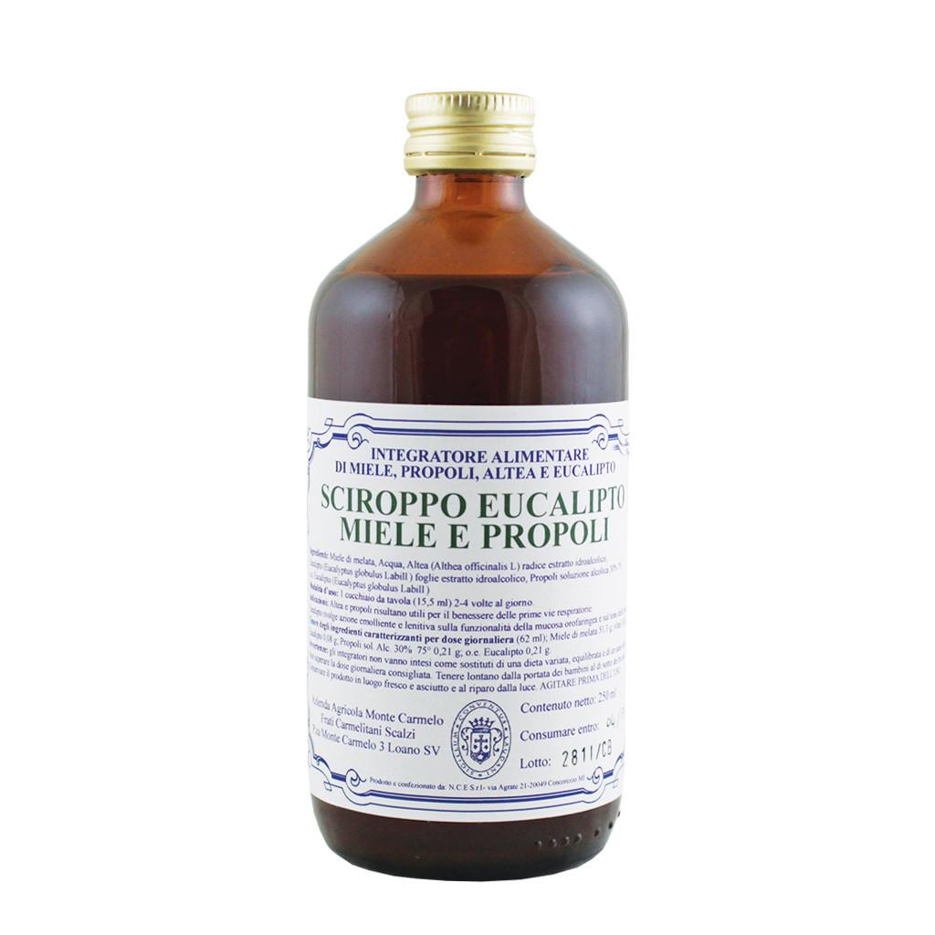 Sirop balsamique d'eucalyptus Miel et Propolis 250 ml