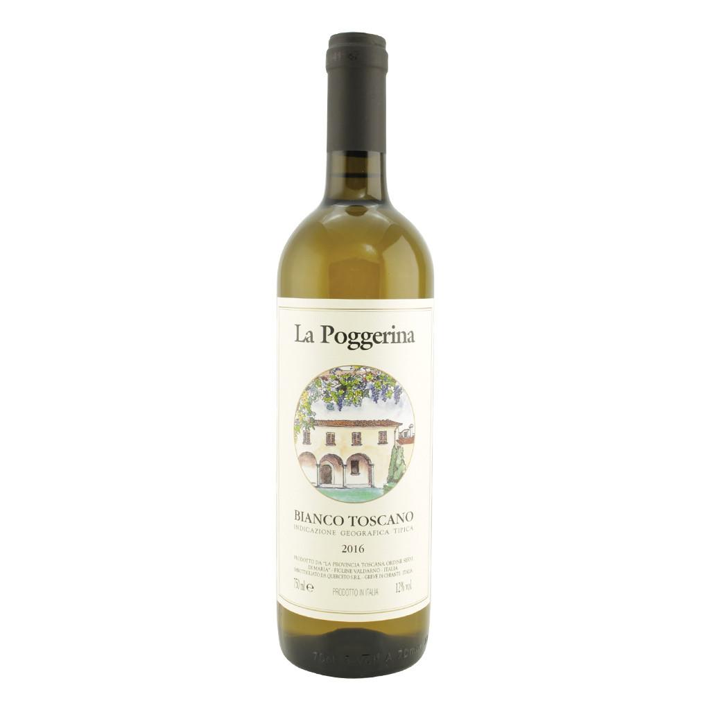 Vin blanc toscan igt La Poggerina 75 cl