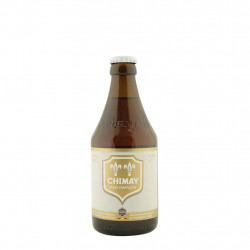 Casquette blanche Chimay 33 cl