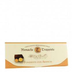 Tablette de chocolat noir à l'orange 150 g