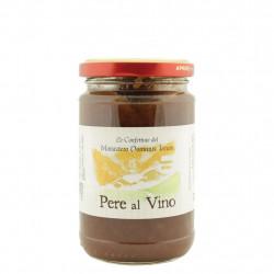 Confiture de poires au vin 320 g