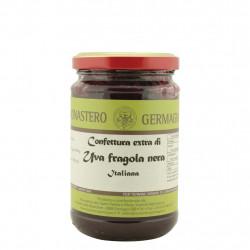 Confiture de fraises noires aux raisins 330 g