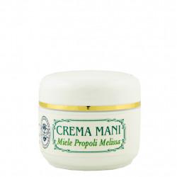 Crème pour les mains au miel, à la propolis et à la mélisse 50 ml