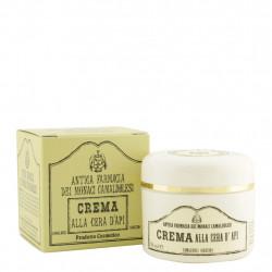 Crème pour le visage à la cire d'abeille 50 ml